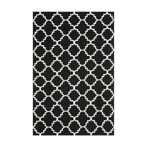 Dywan wełniany Darien Dark, 91x152 cm