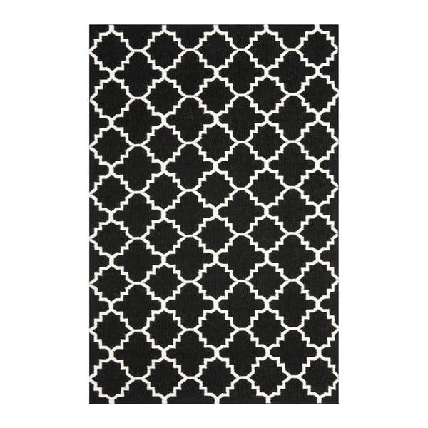 Dywan wełniany Darien Dark, 121x182 cm