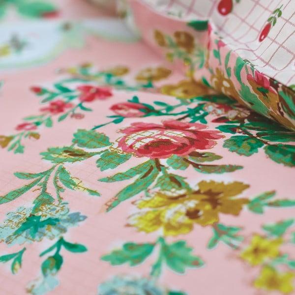 Pościel La Fleur De Vie Pink, 140x220 cm