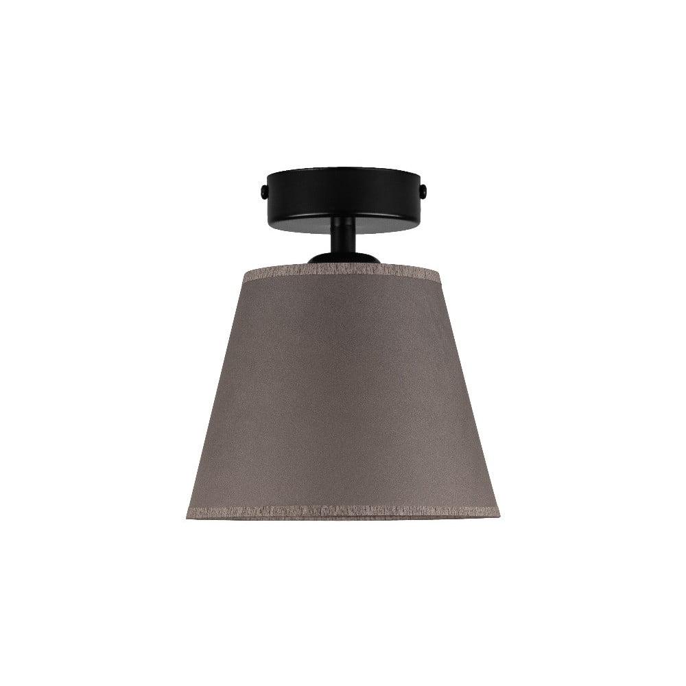 Ciemnobeżowa lampa sufitowa Sotto Luce IRO Parchment, ⌀ 16 cm