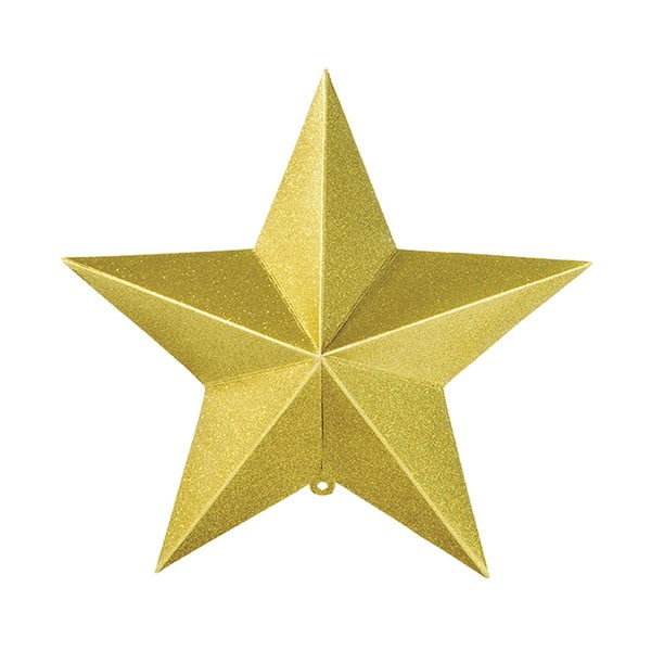 Papierowa dekoracja 3D Hanging Stars, 3 szt.