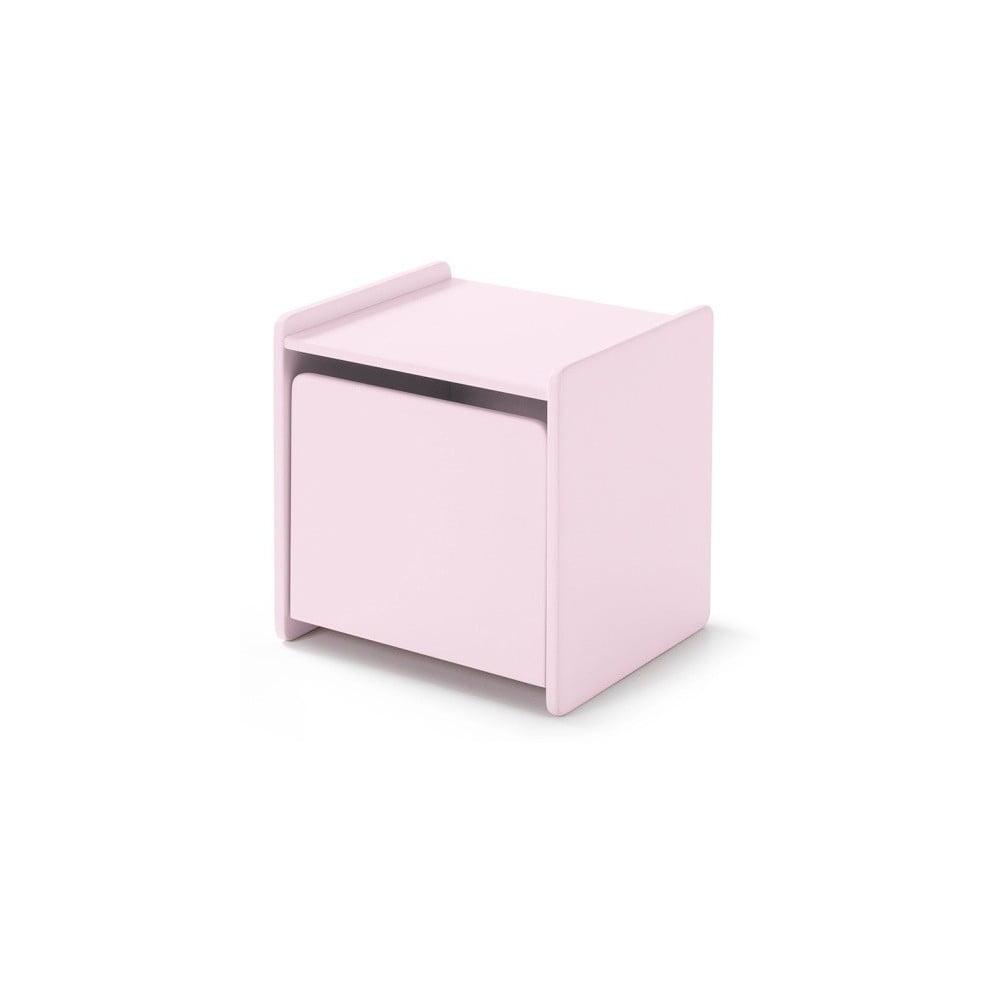 Różowa szafka nocna Vipack Kiddy
