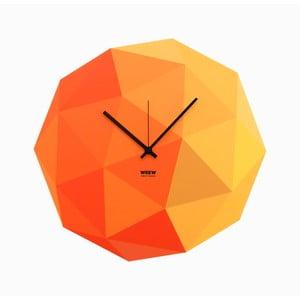 Zegar Timeshape Yellow
