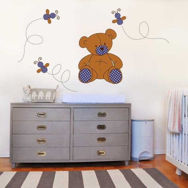 Naklejka dekoracyjna na ścianę Pluszowy miś