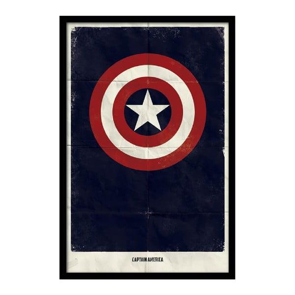 Plakat Captain Star, 35x30 cm