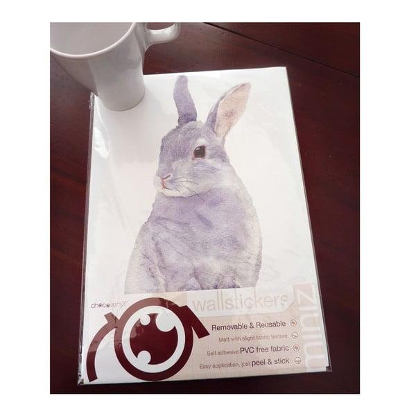 Naklejka wielokrotnego użytku Bunny, 30x21 cm