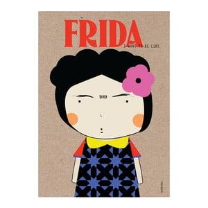 Plakat NiñaSilla Frida, 21x42cm