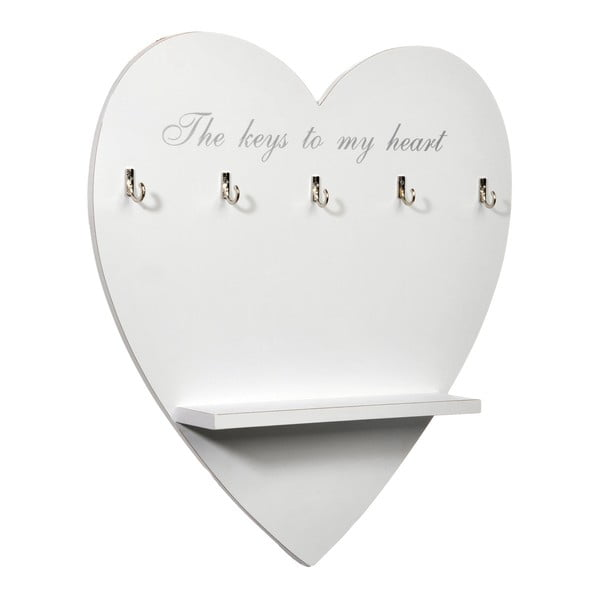 Haczyki na klucze Heart
