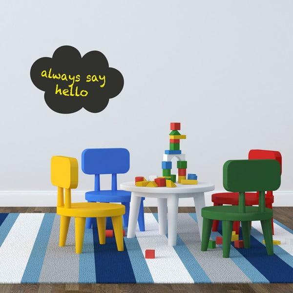 naklejka tablicowa na cian little nice things cloud bonami. Black Bedroom Furniture Sets. Home Design Ideas