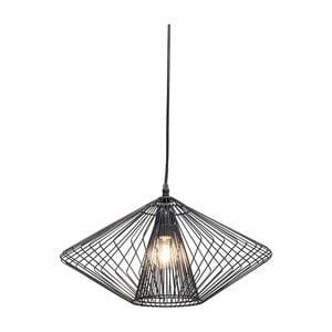 Czarna lampa wisząca Kare Design Modo