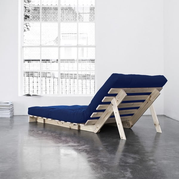 Fotel rozkładany Karup Roots Raw/Royal