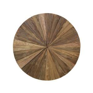 Drewniana dekoracja ścienna HSM Collection Sun, Ø 80 cm