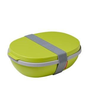 Zielony pojemnik na lunch Rosti Mepal Ellipse