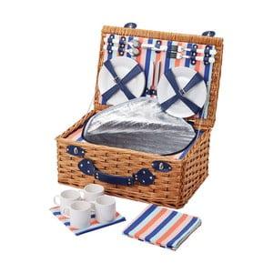 Kosz piknikowy dla 4 osób Seafarer