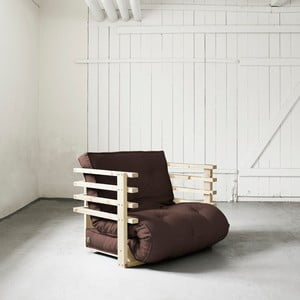 Fotel rozkładany Karup Funk Natural/Brown