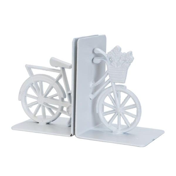 Podpórka na książki Bicyckle, biała
