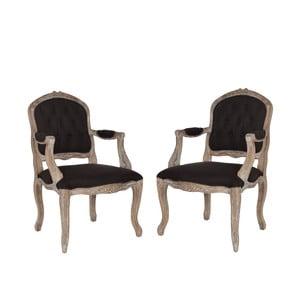 Zestaw 2 krzeseł Beatrice
