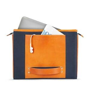 """HANDO aktówka/torba na notebook 11-13"""" Cognac"""