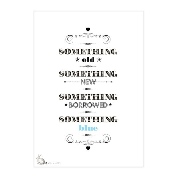Plakat Something Old, New, Borrowed, Blue