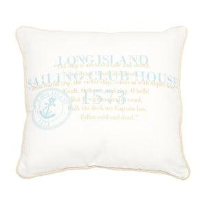 Poduszka Long Island White, 40x40 cm