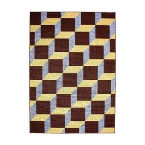 Dywan Opal Choco/Blue, 80x150 cm