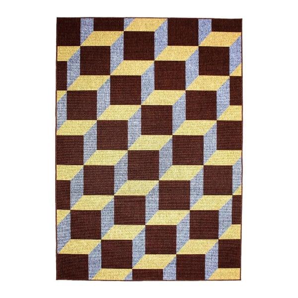 Dywan Opal Choco/Blue, 160x230 cm