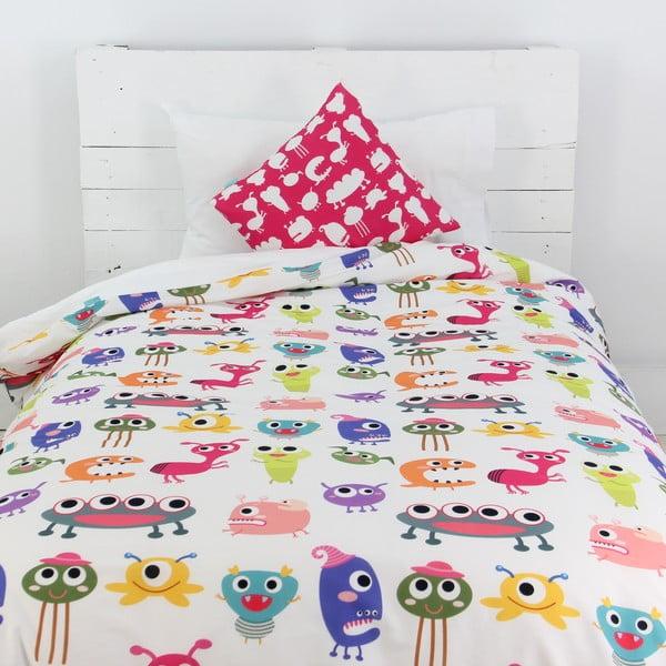 Poszwa na kołdrę i poduszkę Sweet Monsters 140x200 cm