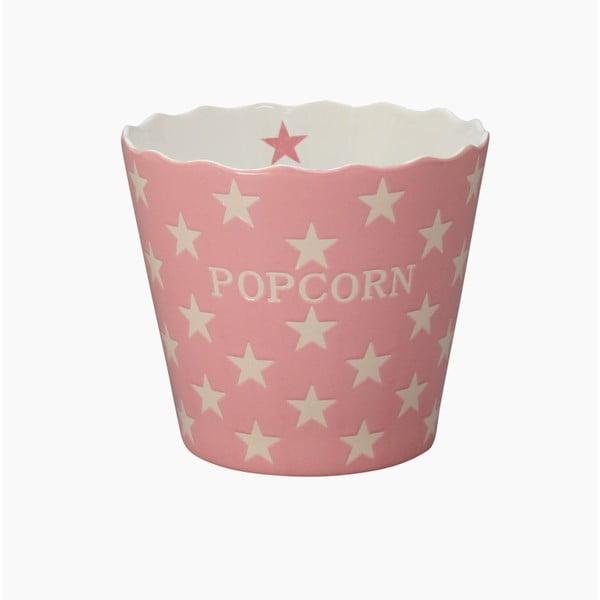 Miska na popcorn Krasilnikoff Pink Star
