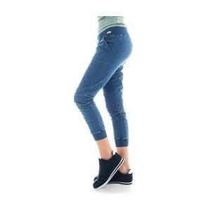 Bawełniane spodnie dresowe barwione indygo Lull Loungewear Vertigo, rozm.M