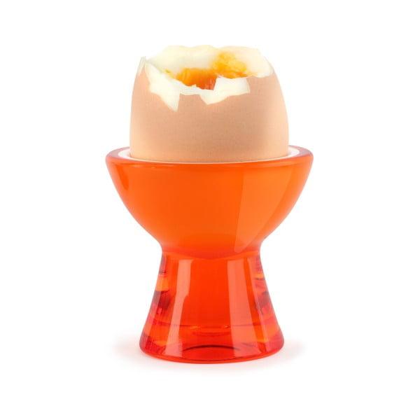 Pomarańczowy kieliszek na jajko Vialli Design