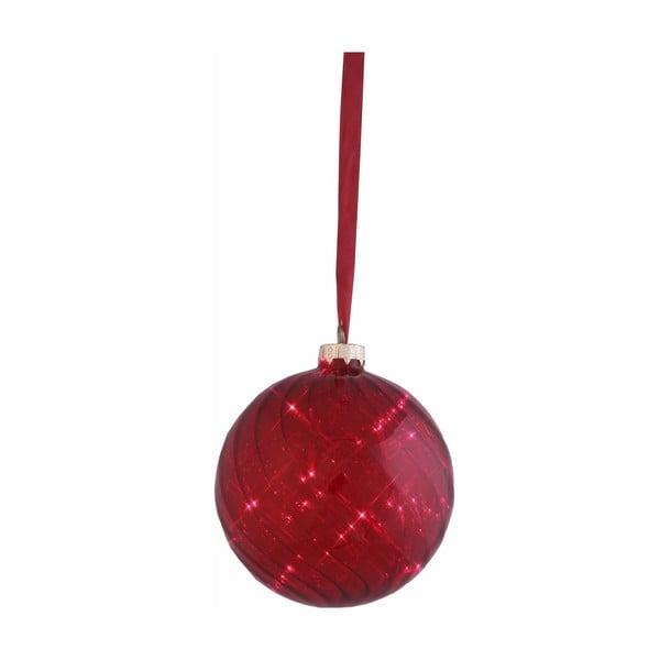 Świecąca bombka Turned Red, 12 cm