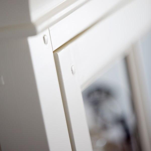 Biała przeszklona witryna Canett Skagen Tower, 1 szuflada