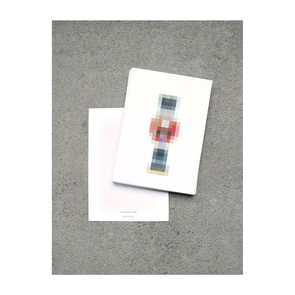 Zestaw  3 kartek na życzenia SNUG.Pixel