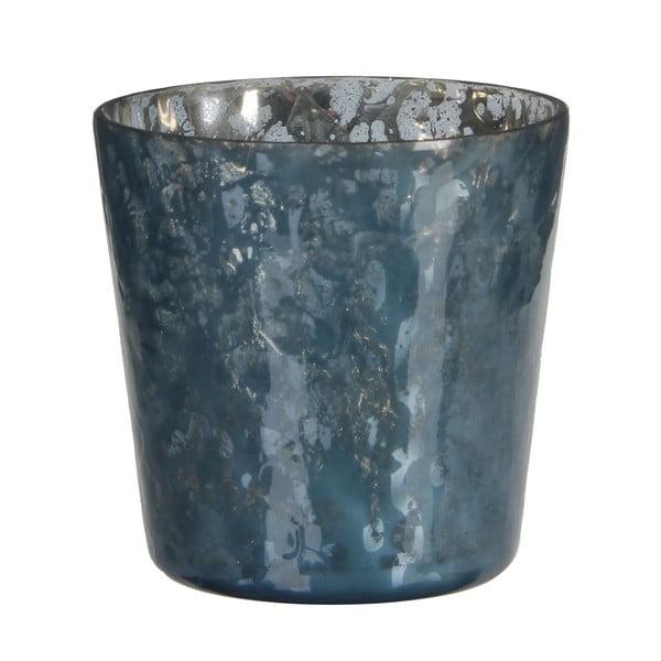 Świecznik Benito Dark Blue, 10x11 cm