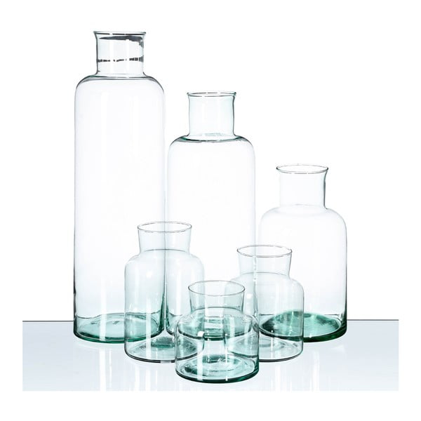 Wazon ze szkła z recyklingu Ixia Lens