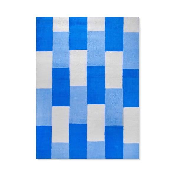 Dywan dziecięcy Mavis Blue Lines, 100x150 cm