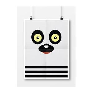 Plakat Lemur, A4