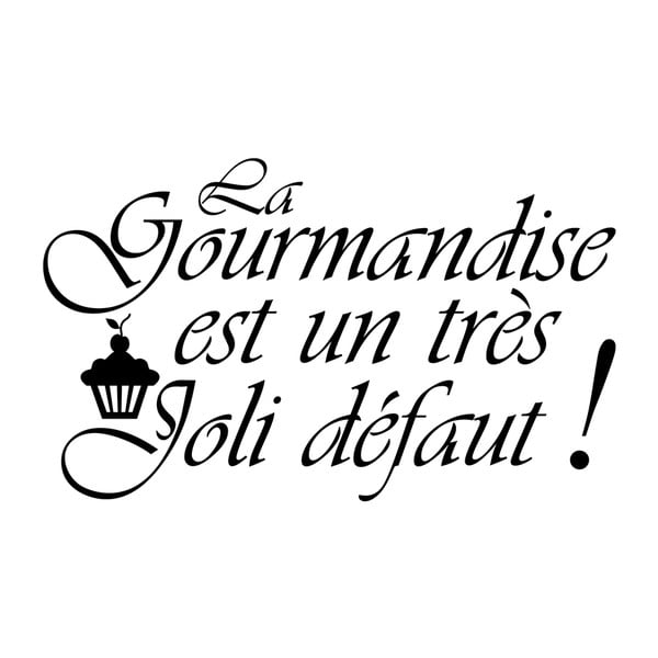 Naklejka La gourmandise