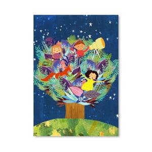 Plakat (projekt: Mia Charro) - Tree