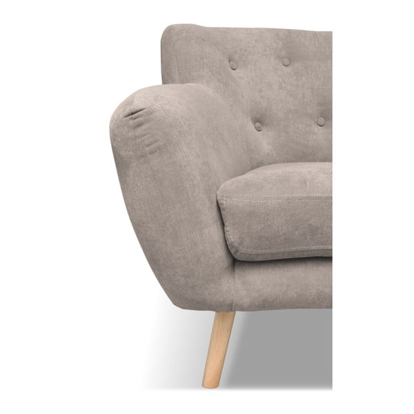Beżowa sofa 3-osobowa Cosmopolitan design London