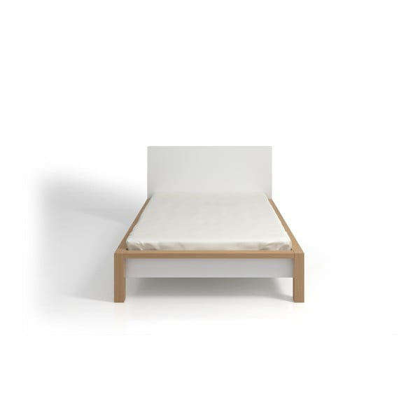 Łóżko 2-osobowe z drewna sosnowego SKANDICA InBig, 160x200 cm
