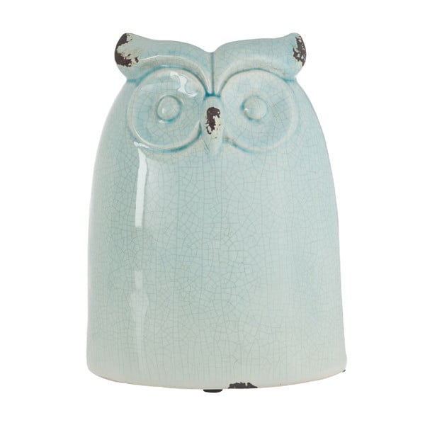 Dekoracja Azure Owl, 28 cm