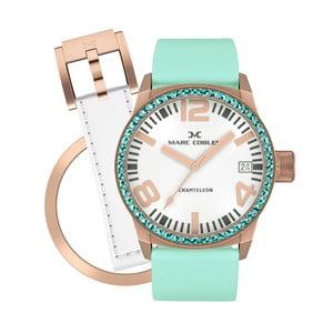 Zegarek damski Marc Coblen z dodatkowym paskiem i obręczą P95