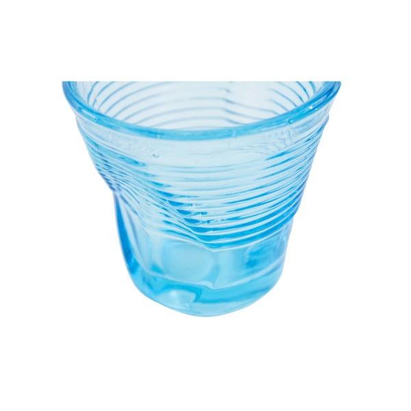 Komplet 6 szklanek Kaleidoskop 115 ml, jasnoniebieski