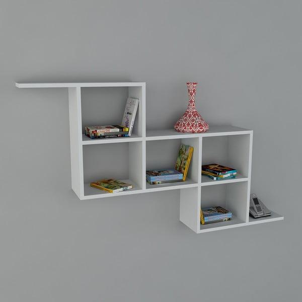 Półka Zeta Book White, 22x147,2x82,2 cm