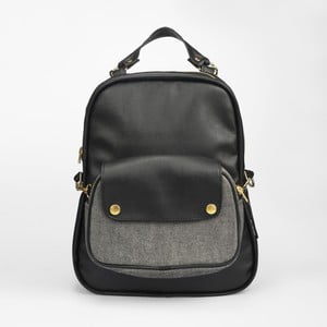 Plecak Mum-ray Egg Black Denim Pocket