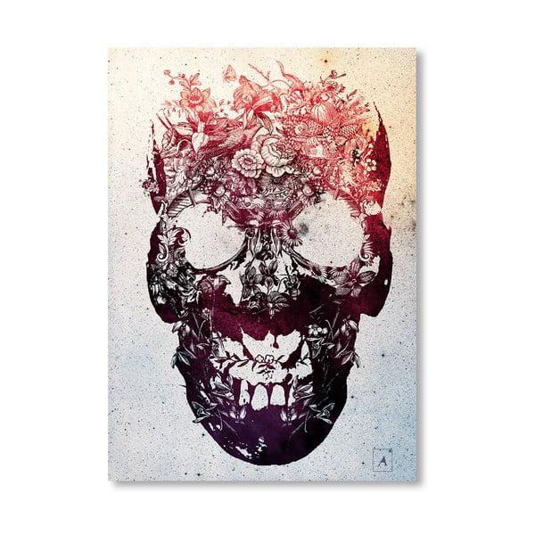 """Plakat autorski """"Skull"""""""