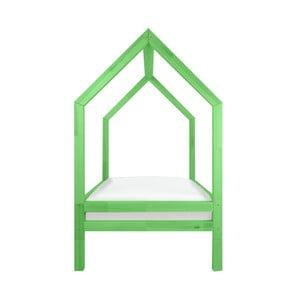 Zestaw 4 zielonych wydłużonych nóg do łóżka Benlemi Funny