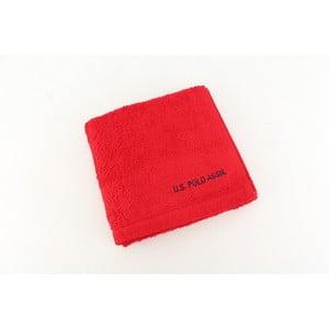 Ręcznik US Polo Hand Towel Red, 50x90 cm