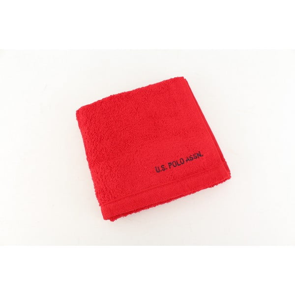 Ręcznik US Polo Hand Towel Red, 50x90 cm